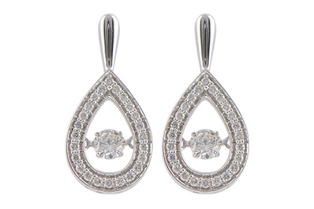 A243-29368: EARRINGS .59 TW