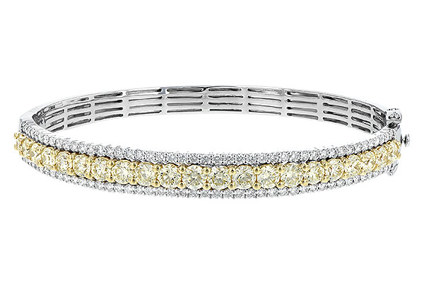 A244-21213: BANGLE 4.20 YELLOW DIAS 5.63 TW