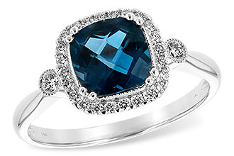 D244-19386: LDS RG 1.62 LONDON BLUE TOPAZ 1.78 TGW