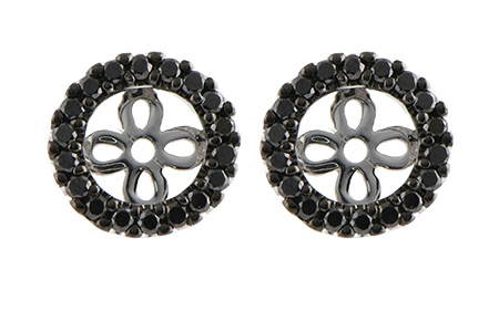 E243-28467: EARRING JACKETS .25 TW (FOR 0.75-1.00 CT TW STUDS)