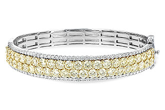 E244-21204: BANGLE 8.17 YELLOW DIA 9.64 TW