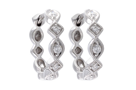 F056-00276: EARRINGS .22 TW