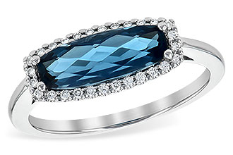 M245-13985: LDS RG 1.79 LONDON BLUE TOPAZ 1.90 TGW